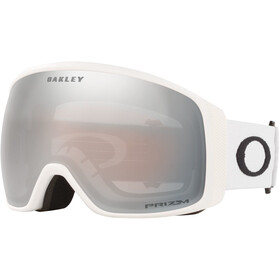Oakley Flight Tracker XL Lunettes de ski Homme, matte white/prizm snow black
